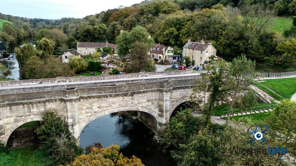 bridge isnspection with drone
