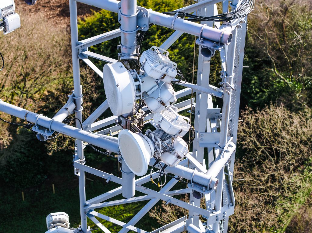 pylon inspection services with drones