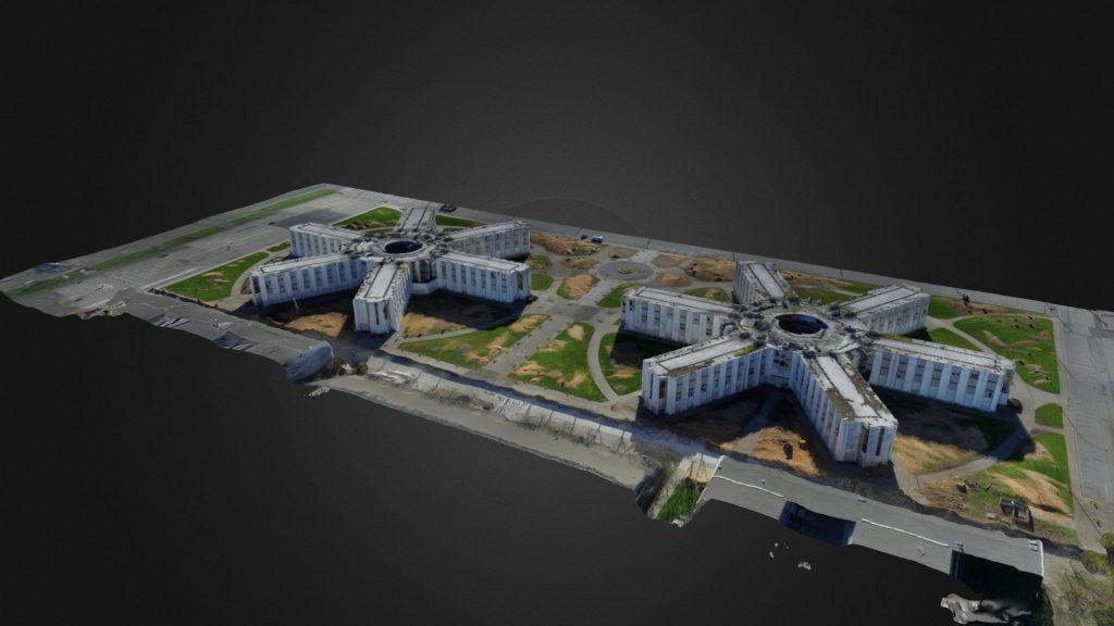 drone 3d mapping in bristol