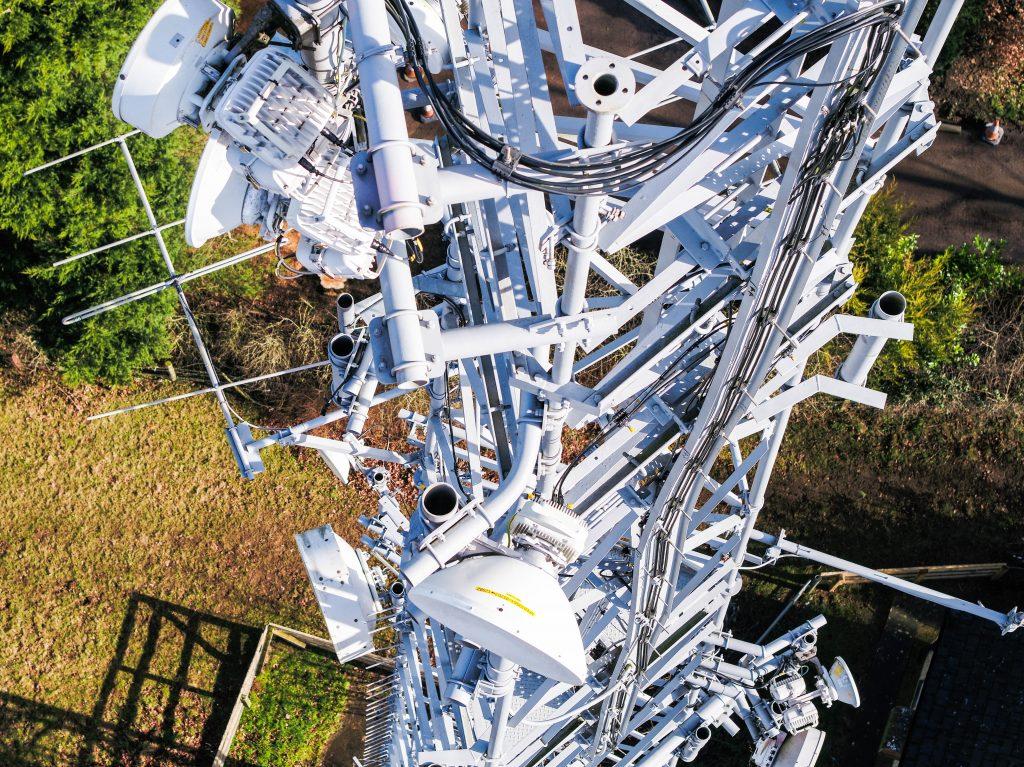 pylon isnpection by bristoldrones