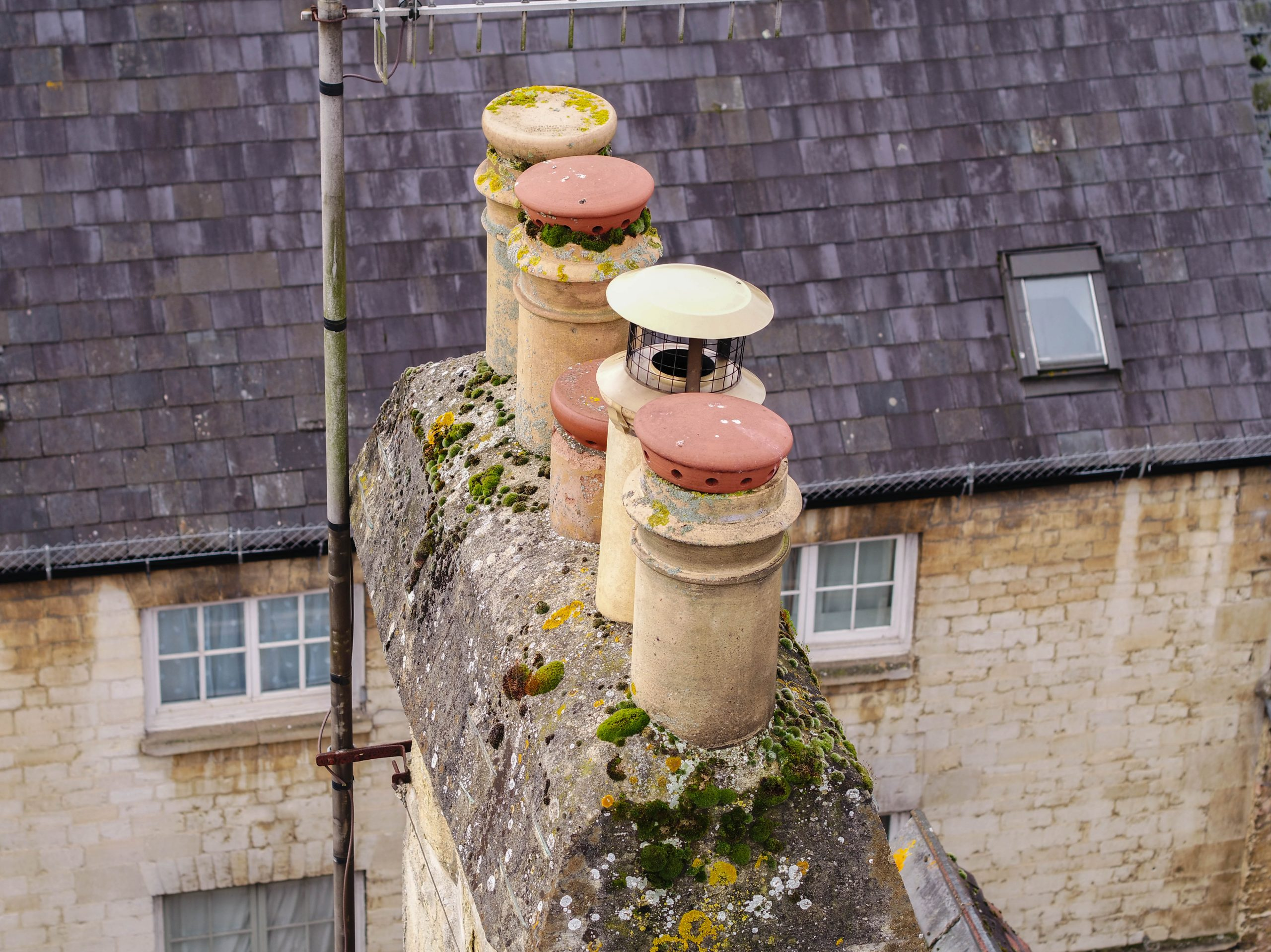 chimney inpsection by bristoldrones